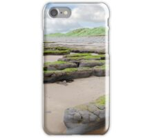 mud banks and dunes at Beal beach iPhone Case/Skin