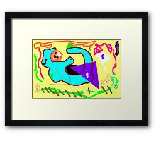 For children Framed Print