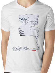 Genius Mens V-Neck T-Shirt