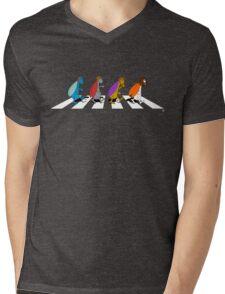 Beetles on Abbey Road Mens V-Neck T-Shirt