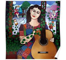 Violeta Parra and the song Back at 17 - Volver a los 17 Poster