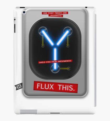 Flux This iPad Case/Skin