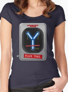 Flux This Women's Fitted Scoop T-Shirt
