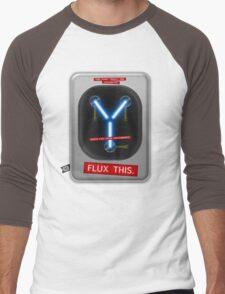Flux This Men's Baseball ¾ T-Shirt