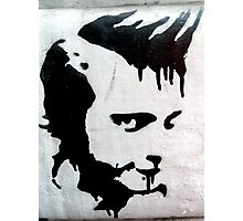 PUNK HEAD GRAFFITI  Photographic Print