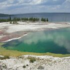 Blue-green geyser by sunsetgirl