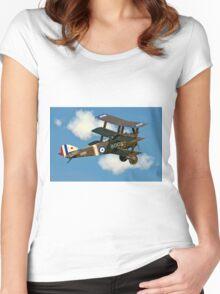 Sopwith Triplane N6290 B-BOCK Women's Fitted Scoop T-Shirt
