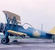 Boeing PT-17 Kaydet A75N1 - Rare Aircraft / Airplane Photograph by CAVUpix
