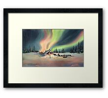 MUSHERS by SHARON SHARPE Framed Print
