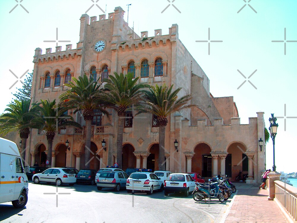 Ciutadella Town Hall II by Tom Gomez