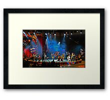 One-ring circus Framed Print