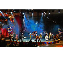One-ring circus Photographic Print
