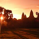 Ankor Wat Sunrise by jenitae