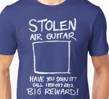 Stolen Air Guitar Unisex T-Shirt