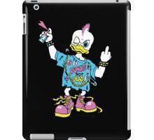Punks not dead. Duck punk. Punk is not dead. iPad Case/Skin