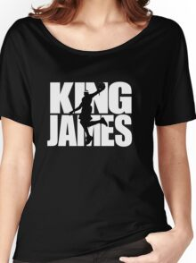 Lebron James - King James Women's Relaxed Fit T-Shirt
