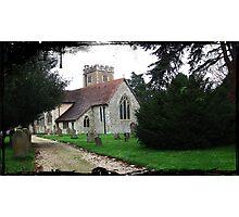 """ Churches"" Photographic Print"