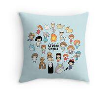 Studio Chibi Throw Pillow