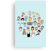 Studio Chibi Canvas Print