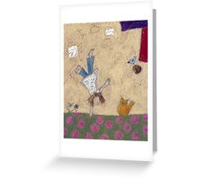 Acrobatics I Greeting Card