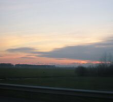Countryside sunset by BubbaGeorge