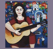 """Violeta Parra  and the song """"Black wedding"""" Kids Clothes"""
