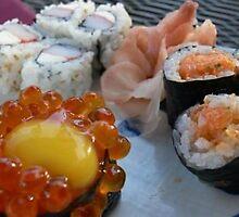 sushi by EimilesArt