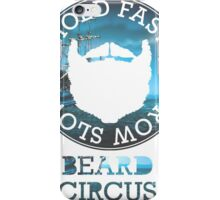 Vintage Pirate by Beard Circus iPhone Case/Skin