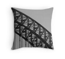 Details (Sydney Harbour Bridge) Throw Pillow