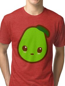 Kawaii Pear Tri-blend T-Shirt