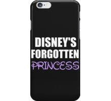 DISNEY'S FORGOTTEN PRINCESS iPhone Case/Skin