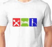 EAT SLEEP  PEE HOTEL SIGN Unisex T-Shirt