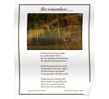 Collaboration ~ She Remembers . . . Poster