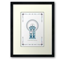 Doctor Who Christmas Framed Print