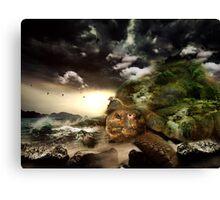Fantasy turtle Canvas Print