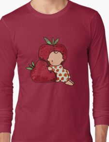 STRAWBERRY KID CUTE  Long Sleeve T-Shirt