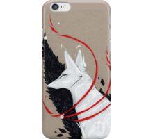 FOX RIBBONS iPhone Case/Skin