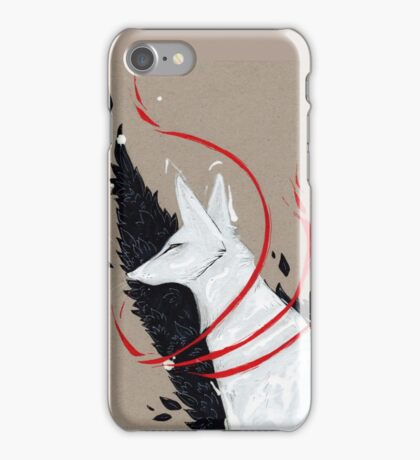FOX RIBBONS iPhone Case/Skin