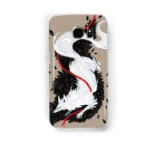 WHITE FOX RIBBONS  Samsung Galaxy Case/Skin