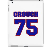 National football player Terry Crouch jersey 75 iPad Case/Skin