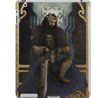 Art Nouveau Thorin Oakenshield iPad Case/Skin