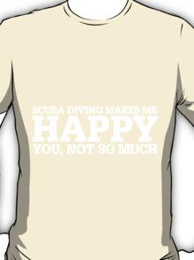 Happy Scuba Diving T-shirt T-Shirt