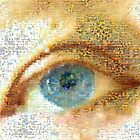 Blue Eye Mosaic by Imageo