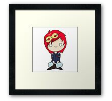 This ain't a party. Framed Print
