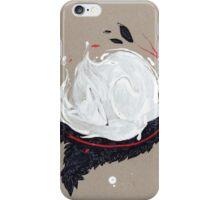 SLEEPY FOX RIBBONS iPhone Case/Skin