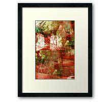 BLOOD GARDEN Framed Print