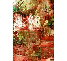 BLOOD GARDEN Photographic Print
