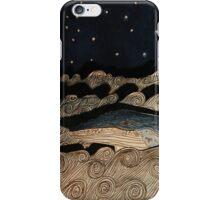 Midnight Whale iPhone Case/Skin