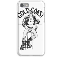 Vintage male iPhone Case/Skin