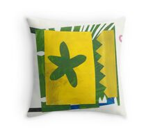 Pieces of the Passion Throw Pillow